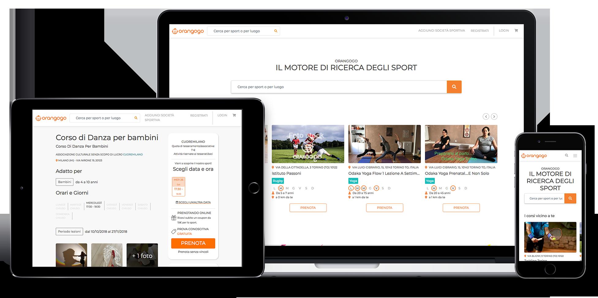 Orangogo Website